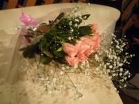 vo森川奈菜美さんに届いた花束