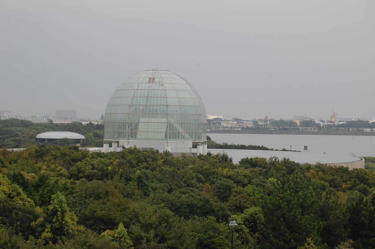 葛西臨海水族園(展望台より)