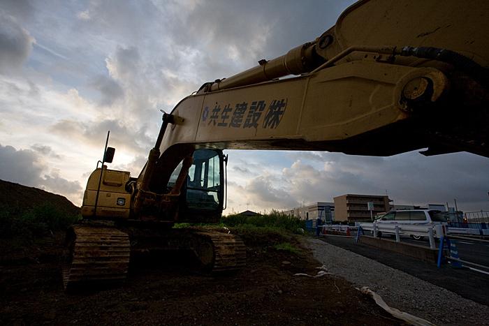 北総線新鎌ヶ谷駅付近