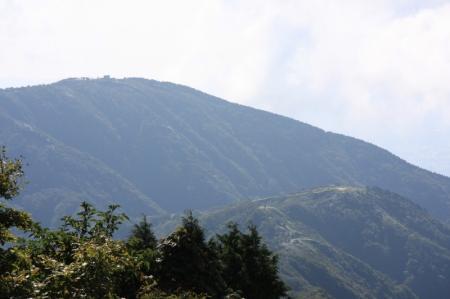 三ノ搭と鳥尾山