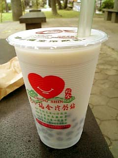 台湾 珍珠女乃茶
