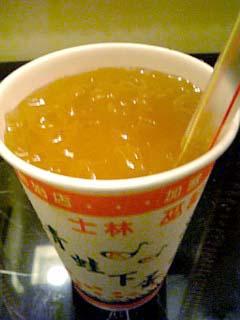 台湾 愛玉加檸檬