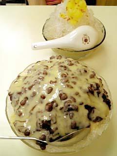 台湾 小豆カキ氷