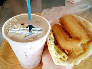 台湾 中式朝食