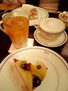 Papas CAFE ケーキセット