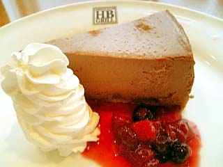 H.B.GRILL チーズケーキ