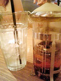 Bio cafe ハーブティー(アイス)