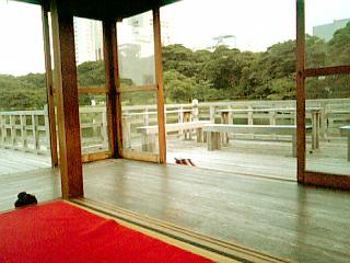 浜離宮 中島の御茶屋 景色