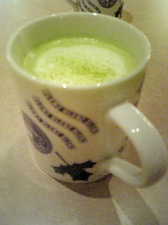 BLENZ COFFEE 煎茶ラテ