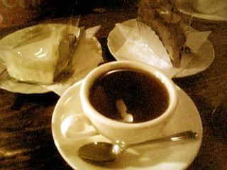 さぼうる 紅茶+ケーキ
