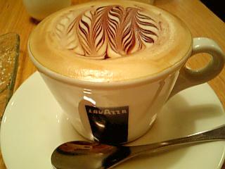shimauma cafe しまうまカプチーノ