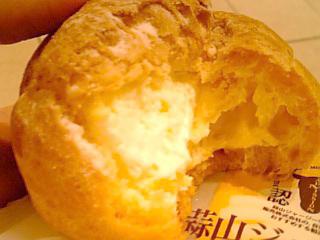 蒜山 ジャージーシュークリーム