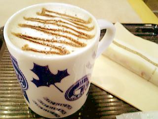 BLENZ COFFEE 黒ごまホットチョコ