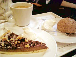 Cafe 人間関係 チョコタルト