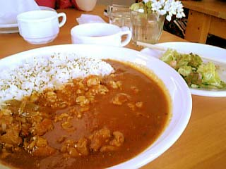 WooL Cafe トマトチキンカレー