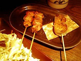 アジロ印 丹波地鶏のガーリックバター焼き+金時芋と栗の春巻き