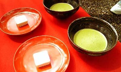金閣寺 お抹茶