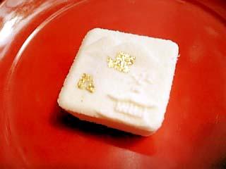 金閣寺 お茶菓子