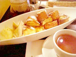 Cafe L'Arc-en-Ciel フレンチトースト