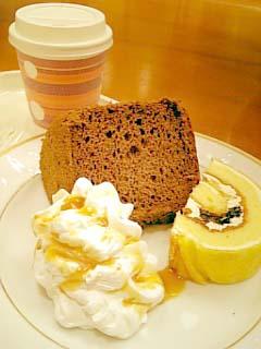 Cafe MITSUYA ケーキセット