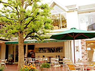 Cafe CABANON 外観