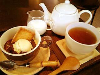 Joy's cafe ケーキセット