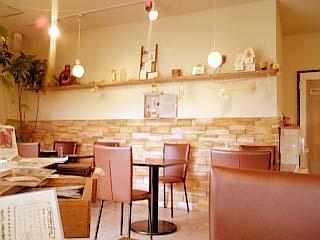 Joy's cafe 内装