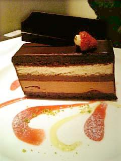 アンリ・シャルパンティエ 香り高いチョコレートケーキ