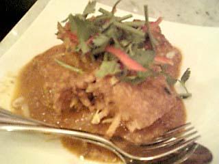 海南鶏飯 豆腐ゴレン