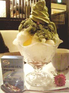 武蔵野茶房 かき氷サイズ比較