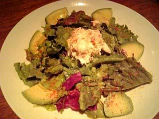 Mu'u Mu'u Diner カニとアボカドのサラダ