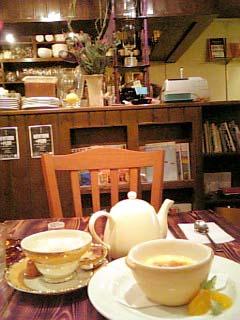 CAFE Con-combre 雰囲気