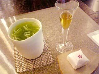 うおがし銘茶 茶・銀座 煎茶セット