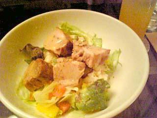 unmarble 豚と角煮のサラダ丼