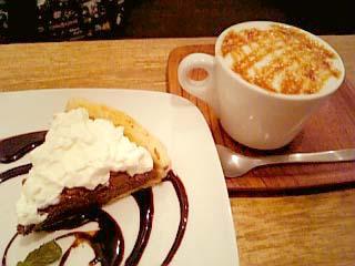cafe Banda ケーキセット