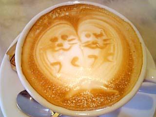 CAFFE ANTOLOGIA カプチーノ