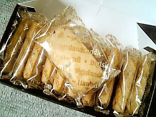 BIG ISLAND CANDIES ショートブレッドクッキー