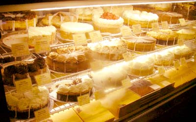 The Cheesecake Factory ショーケース