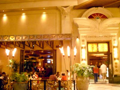 The Cheesecake Factory 入口