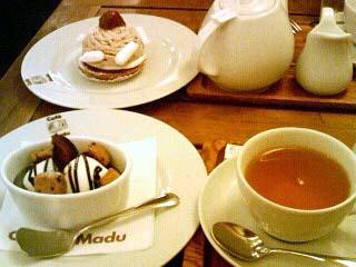 Cafe Madu ケーキセット