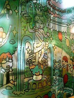 ハチクロカフェ ステンドグラス
