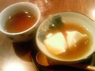 豆腐room Dy's 薬膳豆腐花とおから茶