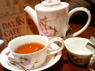 ダヤンカフェ 紅茶