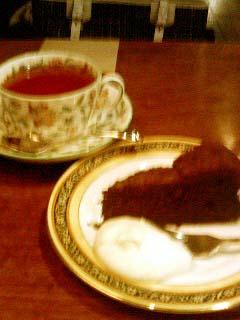 TOM'S CAFE ガトーショコラ