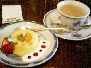 北地蔵 アンズスフレ・紅茶