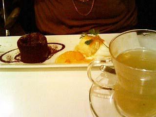 medewo&dine フォンダンショコラ+ゆず緑茶