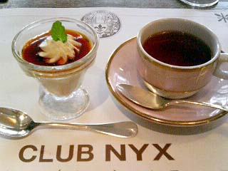 CLUB NYX ランチデザート