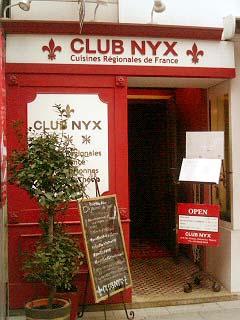 CLUB NYX 入口