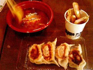 池袋ナムコナンジャタウン 餃子