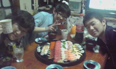 母の日寿司